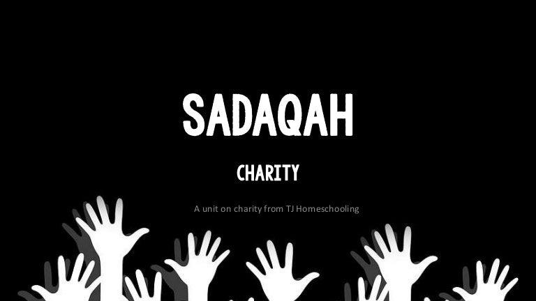 Sadaqah Lessons