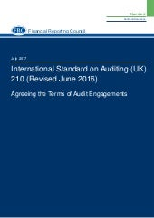 Isa (uk)-210 revised-june-2016-updated-july-2017 Agreeing the Terms of Audit Engagements