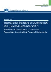 ISA 250 (Revised) Section A – Consideration of Laws and Regulations in an Audit of Financial Statements