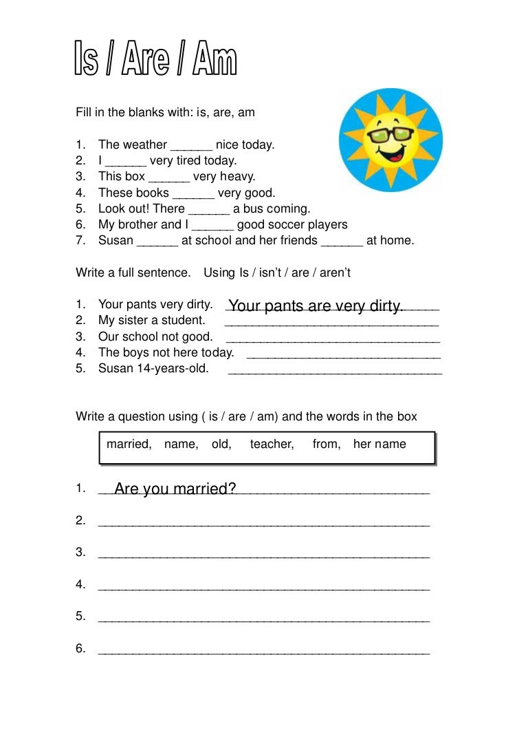 worksheet Is Are Worksheets Luizah Worksheet And Essay Site For – Is Are Worksheets