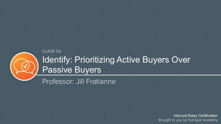 How to Identify Active Buyers Over Passive Buyers