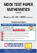 I.S.C. Class XII MATHEMATICS Sample Papers 2016