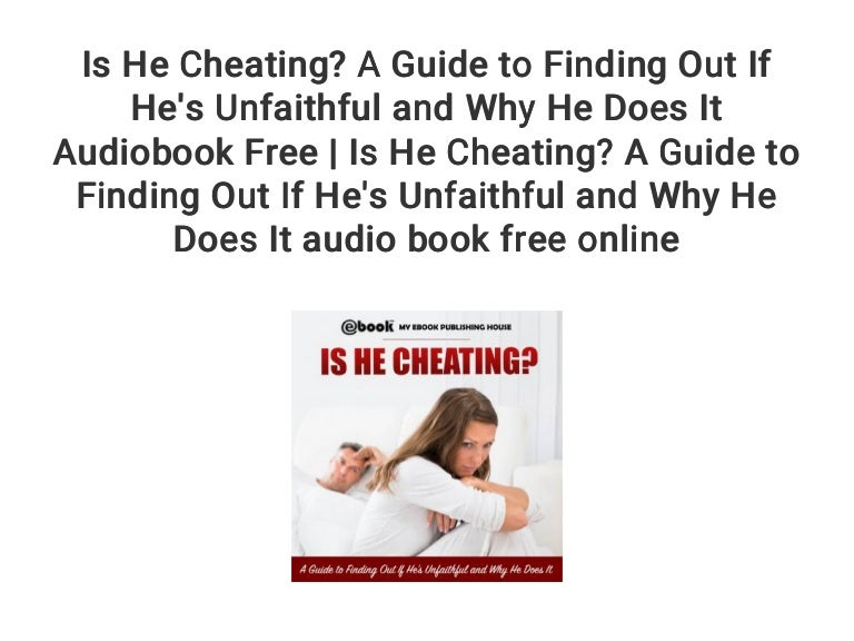 Know on hes cheating to how me if 15 Signs