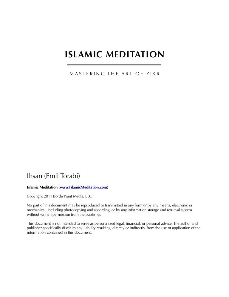 letter of request for certification islamic meditation manual 11973