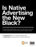 Is Native Advertising the New Black?