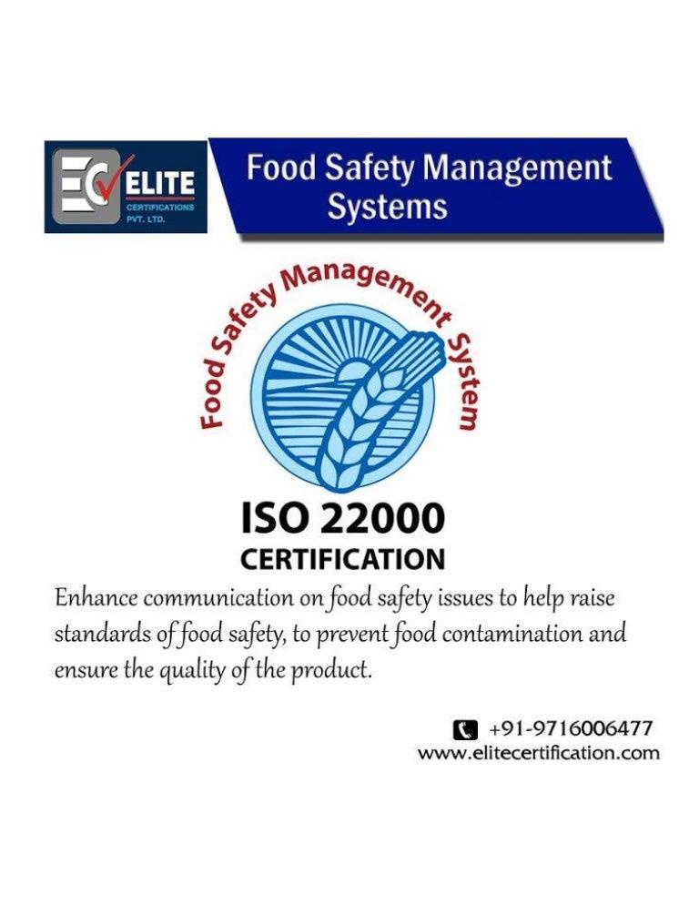 iso certification proxima