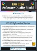 Iso 9126: Software Quality Model