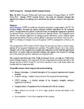 Genting Bhd SWOT Analysis