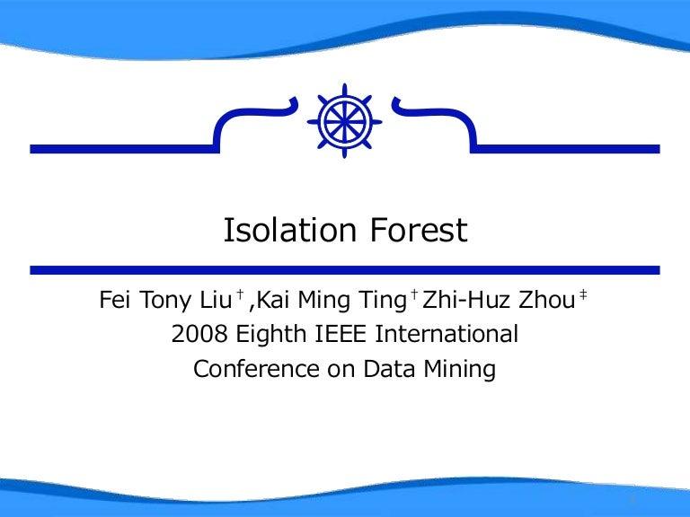 Isolation forest kataware