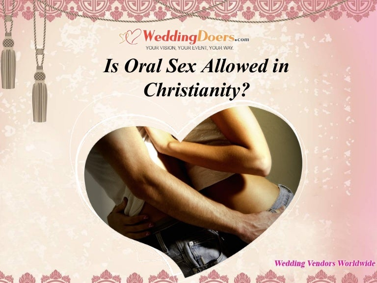 Oral Sex Marriage