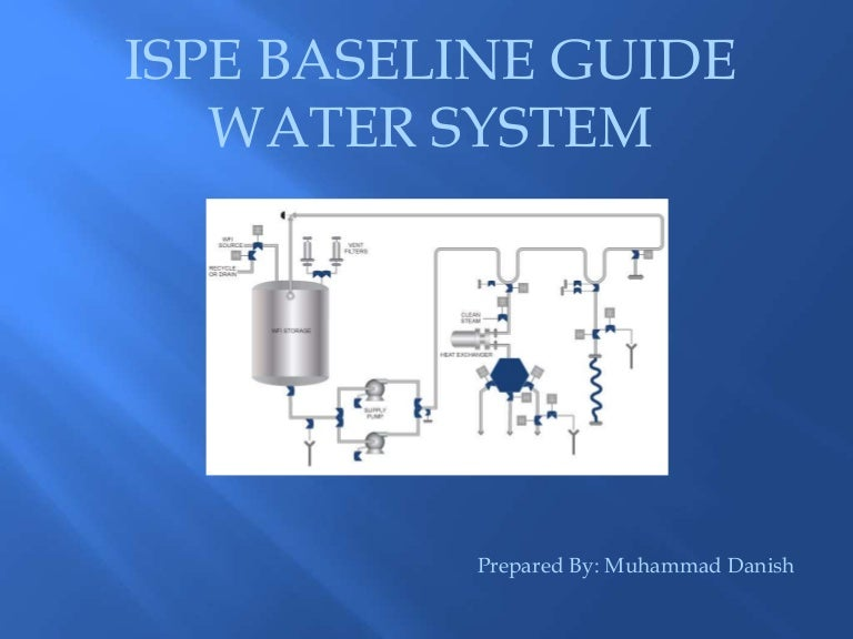 ISPE baseline guide Water system
