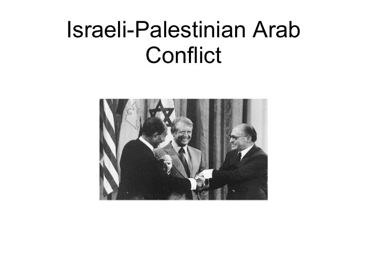 arab i conflict summary and brief history