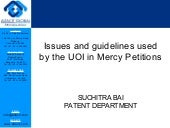 Issues and guidelines used by the uoi in mercy petitions