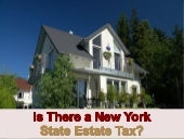 Is There a New York State Estate Tax