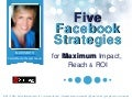 iStrategy London - Five Facebook Strategies for Maximum Impact, Reach and ROI  Mari Smith, Mari Smith International