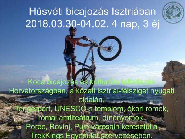 Istria Bike Tour 2018 Easter