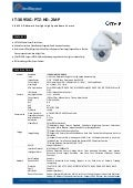 IT-3095IG-PTZ-HD-2MP - IP Camera - Starlight  Camera - H.265 PTZ Starlight  Camera