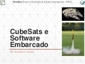 CubeSats e Software Embarcado