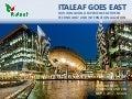 Italeaf goes east