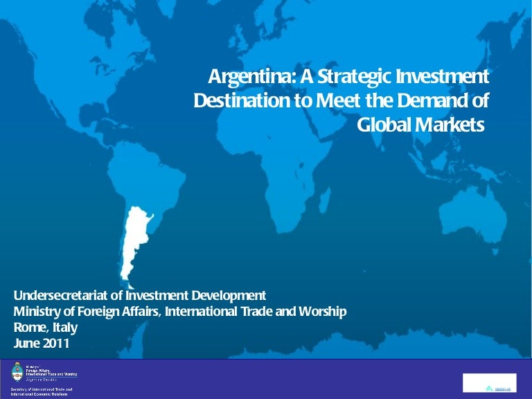 undersecretariat for investment development