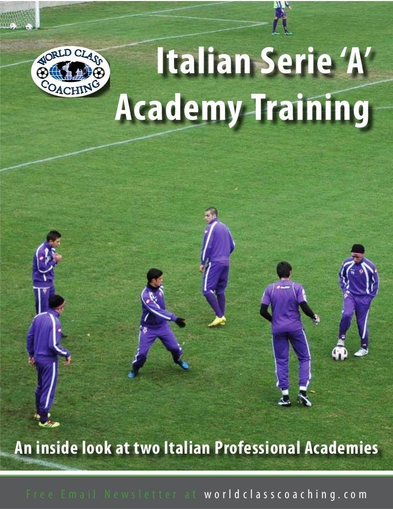 Italian serie a academy training fandeluxe Gallery