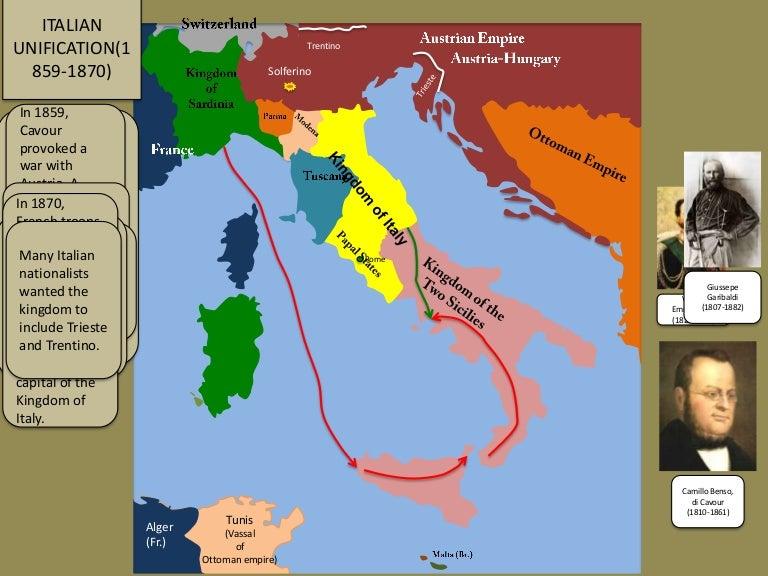 Italian Unification 1859 1871 Animated Map