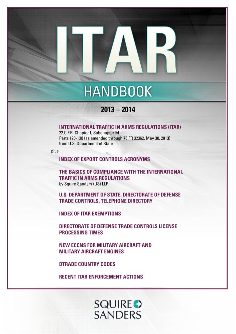 Itar Handbook A4