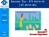 Income Tax AY 2019 2020