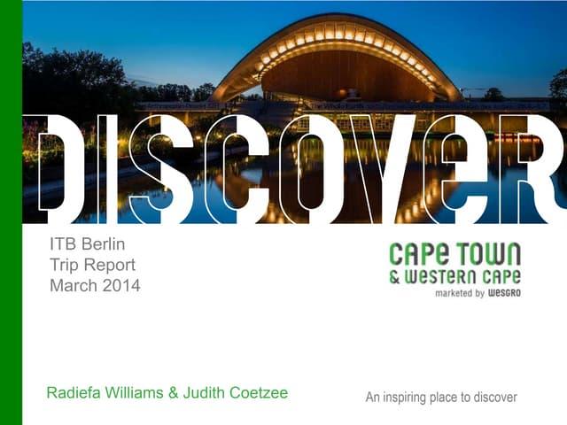 Itb 2014 trip report v3 judy lain