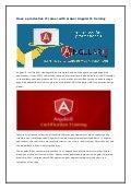 It career with proper angular js training
