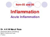 Acute Inflammation for j 25