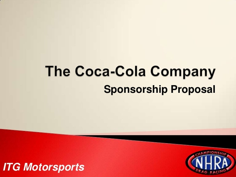 Doc600700 Sponsorship Proposal Template Free Sample – Sponsorship Proposal Template
