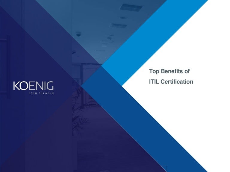 Top Benefits Of Itil Certification