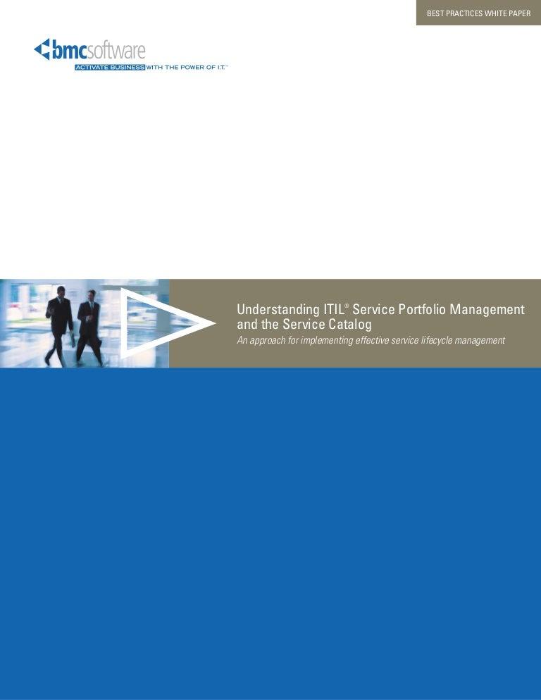 Itil Service Portfolio Management, The Service Catalog, And You