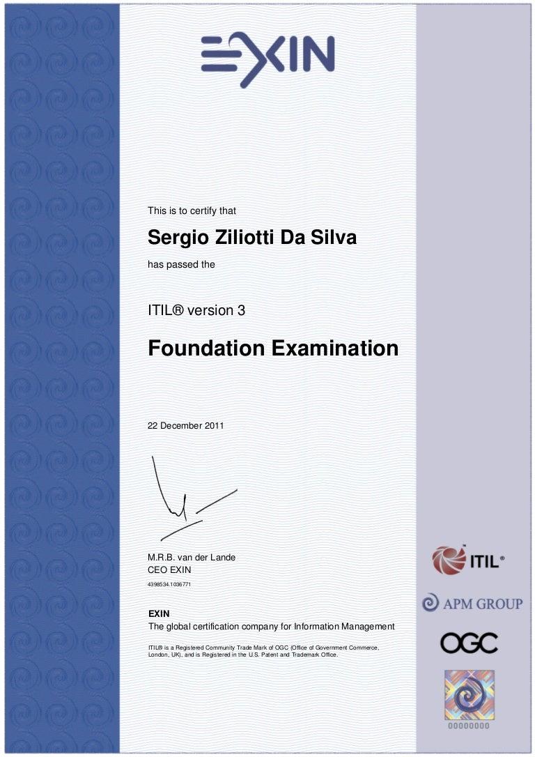 Itil V3 Foundation Exam The Study Guide Pdf