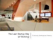 The Lean Startup Way (of Working)