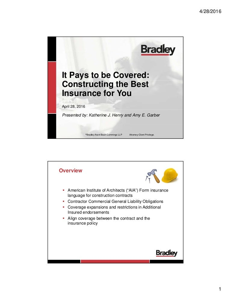 Constructing the Best Coverage for You - It Pays To Be