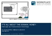 Its all about the domain honey