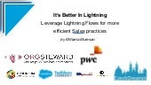 It's better in Lightning: Leverage Lightning Flows for more efficient Sales practices, Mihaela Muresan
