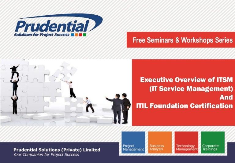 Itsm It Service Management Itil V3 Foundation