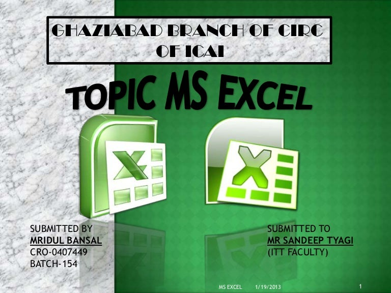 Microsoft excel 2016 full tutorial for beginners [complete in 13.