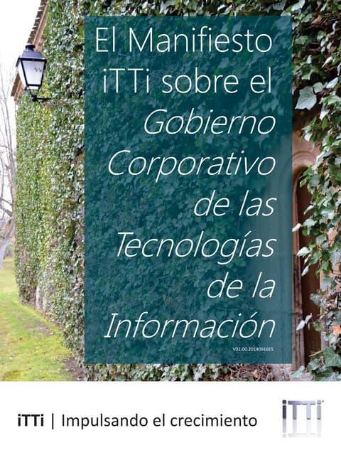 El Manifiesto iTTi