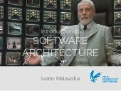[2017/2018] Introduction to Software Architecture