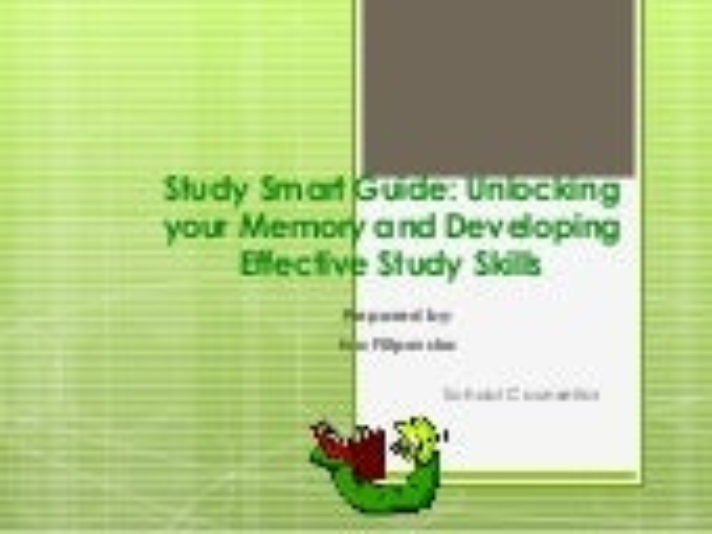 Iva study skills presentation 2