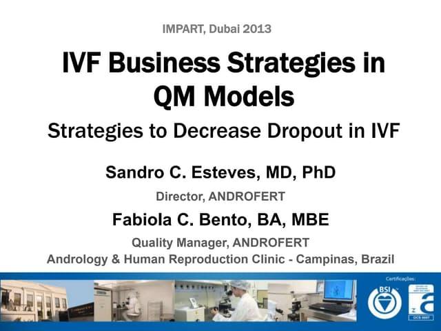 IVF Business Strategies in QM Models