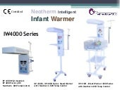 Neothem Infant Warmer IW4000 series