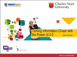 Taming Information Chaos with the Power of 2.0