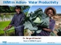 IWMI in Action- Water Productivity