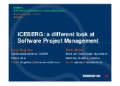 ICEBERG: a different look at Software Project Management
