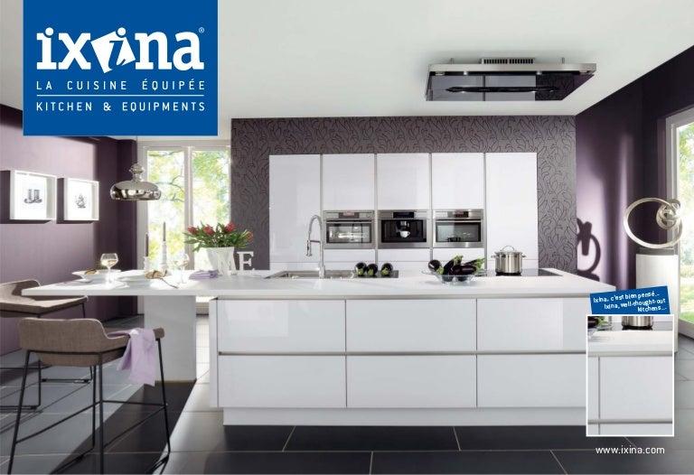 Ixina Mauritius Kitchen Introduction